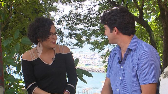 Alessandro Timbó conhece as novas produções do audiovisual baiano (Foto: TV Bahia)