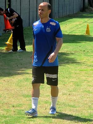 Léo Santos treino (Foto: Marcelo Hazan)