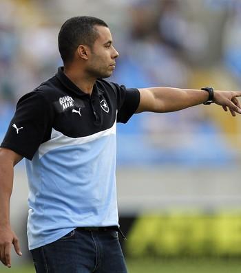 Jair Ventura Botafogo x Náutico Engenhão (Foto: Vitor Silva/SSPress)