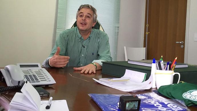 Paulo Nobre Presidente Palmeiras (Foto: Sergio Gandolphi)