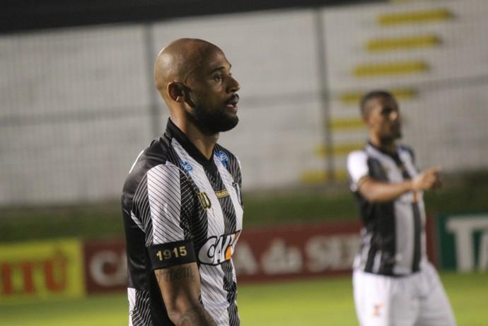 Luizão - zagueiro do ABC (Foto: Augusto Gomes/GloboEsporte.com)