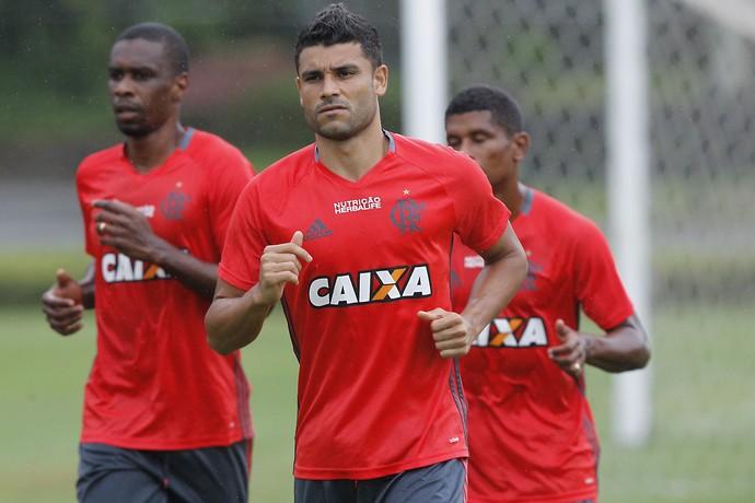 Ederson treino Flamengo (Foto: Gilvan de Souza/Flamengo)