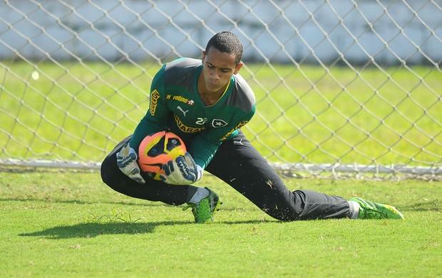 Renan treino Botafogo (Foto: Bruno Turano / Agência estado)