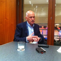 George Papandreou no TEDGlobal, na terça-feira (11) (Foto: Marcelo Moura/ÉPOCA)