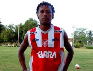Alexandre, novo lateral-esquerdo do Potiguar de Mossoró (Foto: Marcelo Diaz/Divulgação)