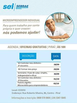 1ª edição da Semana Financeira de Piraí (Foto: Divulgação/Prefeitura Piraí)
