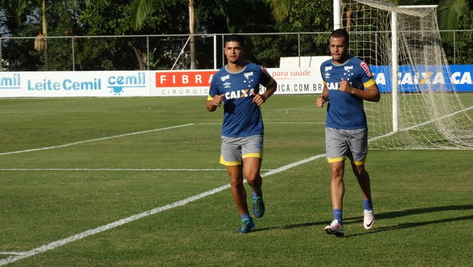 Denilson Mayke Cruzeiro (Foto: Guilherme Frossard)