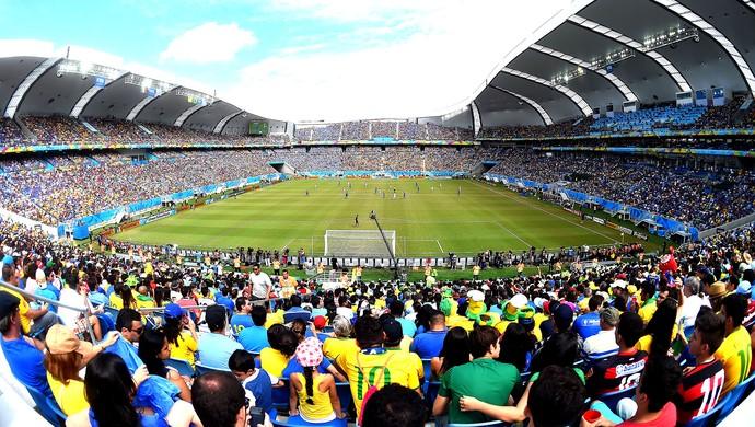 estádio Arena das Dunas jogo Itália x Uruguai (Foto: Getty Images)