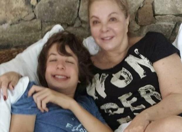 Lucas Jagger e Vera Gimenez (Foto: Reprodução/Instagram)
