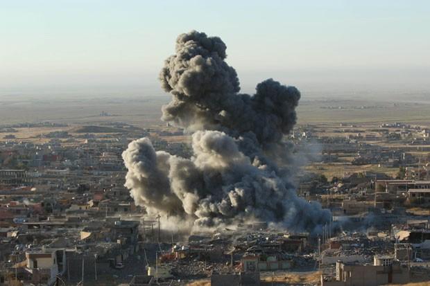 Território do Estado Islâmico encolhe