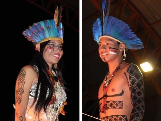 cdd81d720 G1 - Miss e Mister Indígena 2013 são eleitos em desfile em aldeia de ...