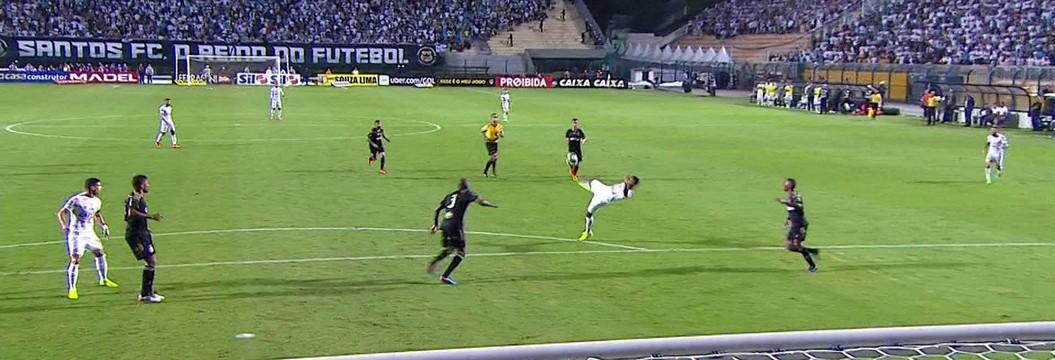 b3ef62a76f0c5 Santos x Ponte Preta - Campeonato Paulista 2017-2017 - globoesporte.com