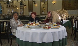 Vilma Nascimento, Berta Loran e Elke Maravilha ajudam a resolver seu dilema
