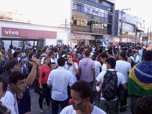 Manifestação está programada para as 15h (Foto: João Phelipe Soares / G1)