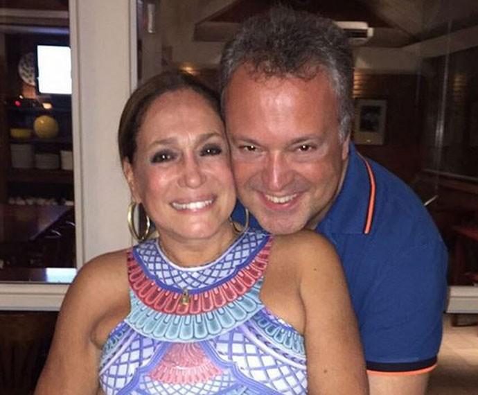 Susana e seu filho, Rodrigo (Foto: Arquivo pessoal)
