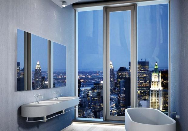 As banheiras com as melhores vistas de Nova York