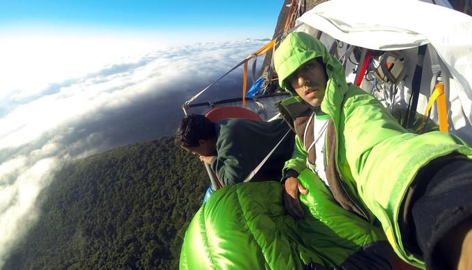 Raul Quintiliano, alpinista, em Aiuruoca (Foto: Arquivo pessoal / Raul Quintiliano)
