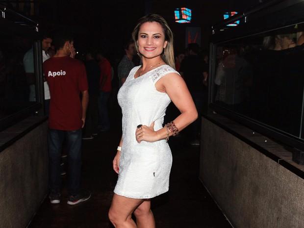 Márcia Imperator em show em São Paulo (Foto: Celso Tavares/ EGO)