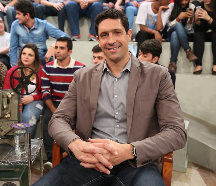 Gustavo Borges participa do programa 'Altas Horas' (Foto: Carol Caminha/Gshow)