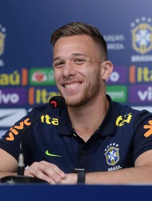 Arthur coletiva da seleção brasileira