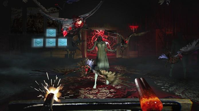 Until Dawn: Rush of Blood traz terror e também tiros para o PlayStation VR (Foto: Reprodução/PlayStation Blog)