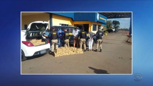 Integrantes de duas quadrilhas são presos em Chapecó durante operação