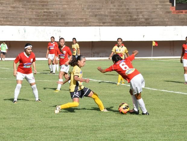 Comercial-MS é goleado pelo Kindermann na Copa do Brasil feminina (Foto: Hélder Rafael)