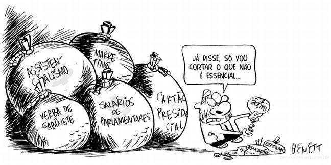 Ajuste fiscal (Foto: Benett)