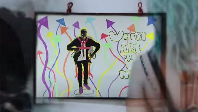Clipe de 'Where are Ü Now' tem desenhos feitos pelos fãs (Foto: Reprodução)