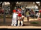 Após agressão a palhaço em Uberaba, ato pede respeito à classe