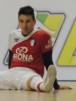 Mithyuê Joinville Futsal (Foto: João Lucas Cardoso)