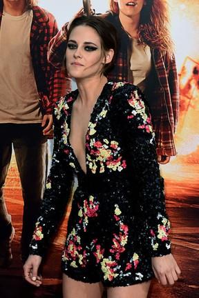 Kristen Stewart em première de filme em Los Angeles, nos Estados Unidos (Foto: Mark Ralston/ AFP)