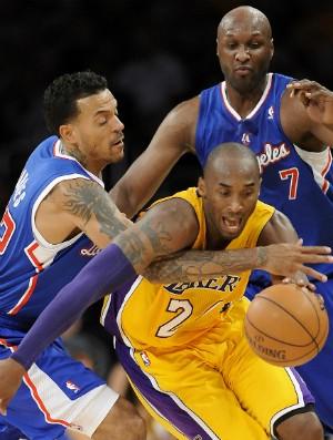 Kobe Bryant; Los Angeles Lakers (Foto: AP)
