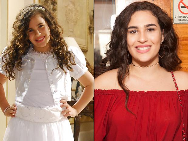 Livian Aragão - Antes e Depois (Foto: Globo / Reprodução - Anderson Barros / EGO)