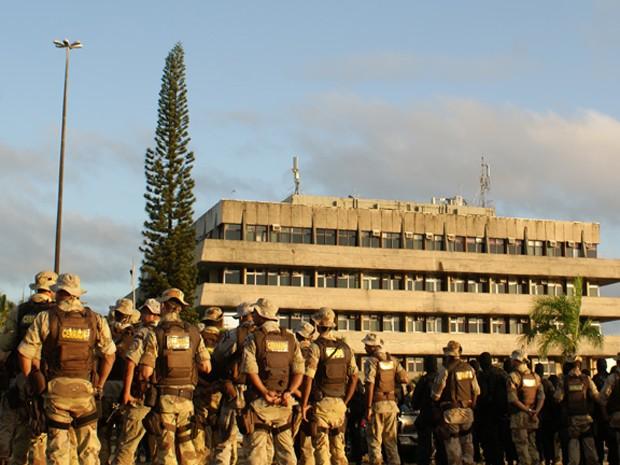Equilíbrio emocional é desafio de policiais no dia a dia (Foto: Egi Santana / G1)