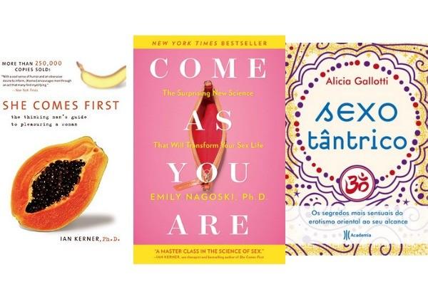 Livros para inspirar-se no Dia do Sexo (Foto: Divulgação)