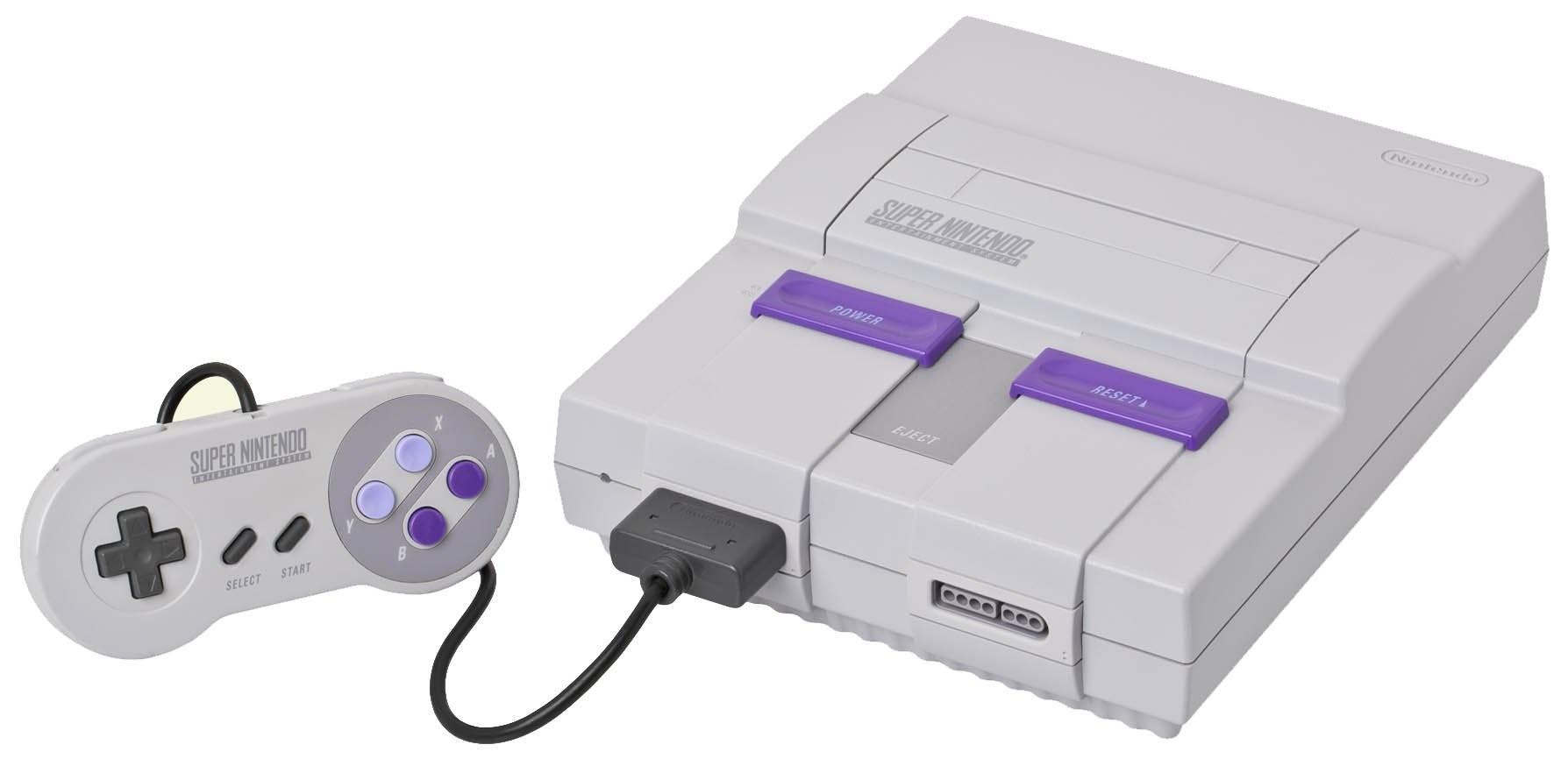 O novo Super Nintendo (Foto: Divulgação)