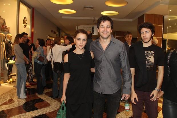 Débora Falabella e Murilo Benício (Foto: Thyago Andrade / Foto Rio News)