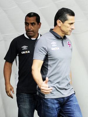 Jorginho e Zinho Vasco X Palmeiras (Foto: Marcos Ribolli)