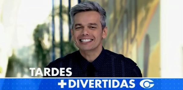 Otaviano Costa manda recado para telespectadores da Alagoas  (Foto: Reprodução/TV Gazeta)