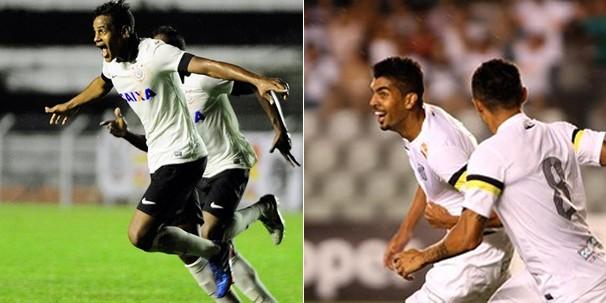 Corinthians e Santos se enfrentam na final da Copa São Paulo de Futebol Júnior, a Copinha, neste sábado, dia 25 (Foto: globoesporte.com)