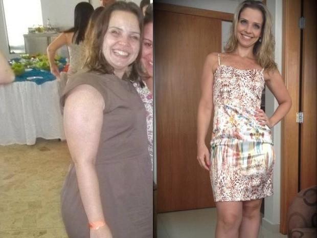 Elaine Lopes conseguiu emagrecer 28 quilos e mudou completamente (Foto: Arquivo Pessoal / Elaine Lopes)