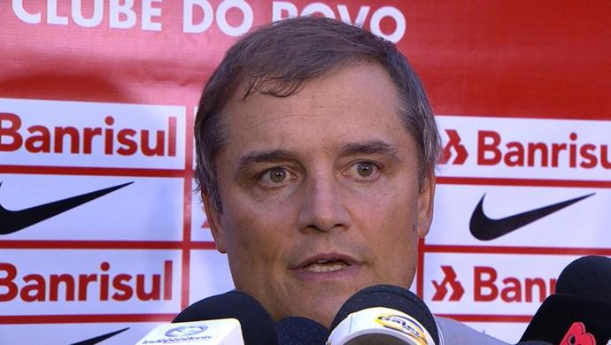 Diego Aguirre em coletiva Inter 1 x 0 Veranópolis pelo Gauchão (Foto: Reprodução/RBS TV)