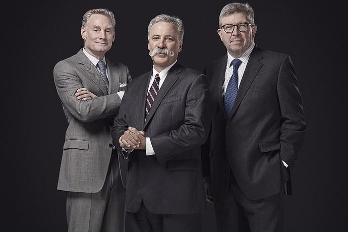 fórmula 1 executivos liberty media (Foto: Reprodução)