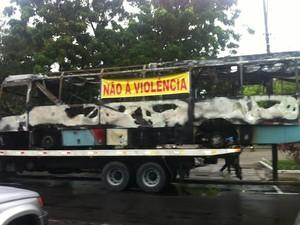 Empresários protestam contra violência (Foto: Gioras Xerez/G1 Ceará)