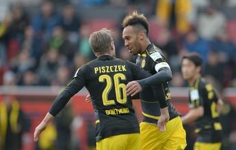 Na base da raça, Dortmund marca no último minuto e empata com Ingolstadt