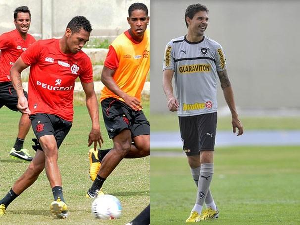 Flamengo joga pelo empate e Botafogo entra em campo com cautela (Foto: Jorge William / O Globo/ Fernando Soutello/AGIF)
