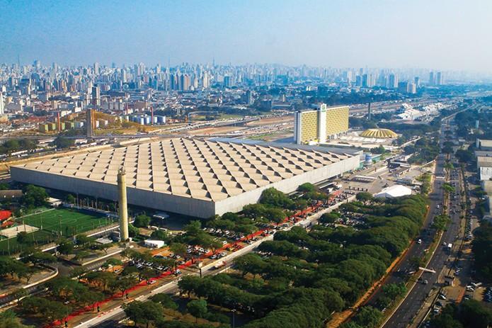 Anhembi Parque, que recebe novamente a Campus Party em São Paulo, tem estrutura gigantesa de 76 mil metros quadrados (Foto: Divulgação /  Anhembi Parque)