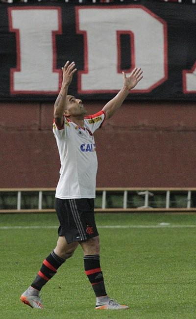 Joinville x Flamengo - Sheik comemora gol  (Foto: Gilvan de Souza / Flamengo)