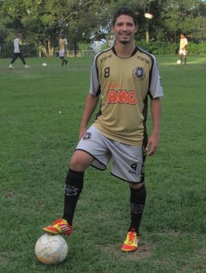 Sorriso, lateral do Rio Branco-ES (Foto: Deysiane Gagno/Rio Branco AC)